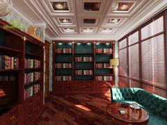 Шафа для книжок Ampir для вітальні