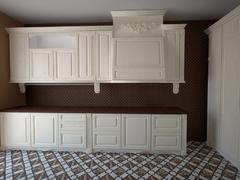 Кухня Classic біла с декорами