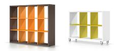 Шафа - полиці Mensole Tinta Brown&Orange